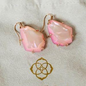 Kendra Scott Rosenell Rose Gold Earrings NWT